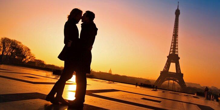 Zájezd do Paříže na Valentýna včetně ubytování na 2 noci, snídaně a průvodce