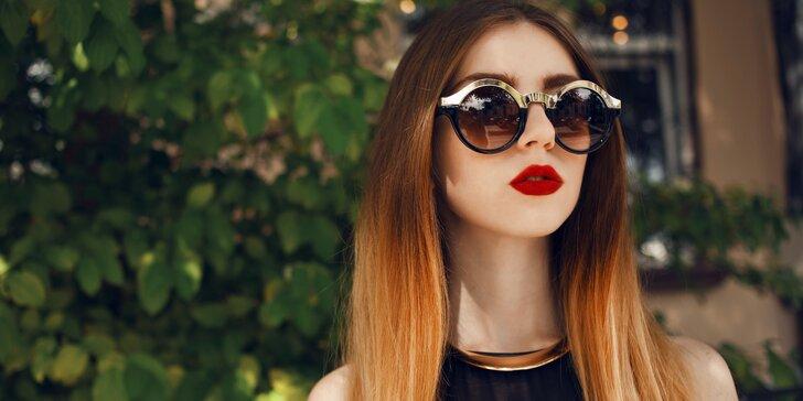 Barvení Ombre Hair včetně střihu pro všechny délky vlasů