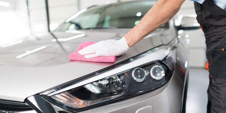Připravte automobil na zimu: Ruční mytí, voskování a dezinfekce ozonem