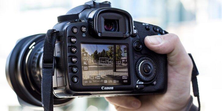 Zaostřeno na perfektní fotky: kurz, na kterém ovládnete funkce foťáku