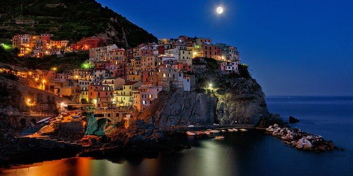 Výlet za originálním světelným betlémem do italské Cinque Terre s průvodcem