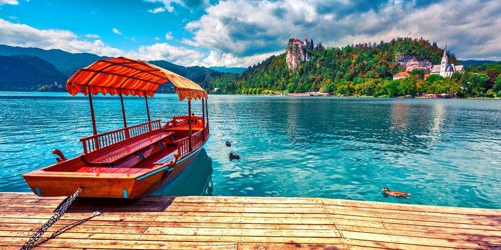 Přírodní krásy Slovinska: jezero Bled, soutěska Vintgar a historický Maribor