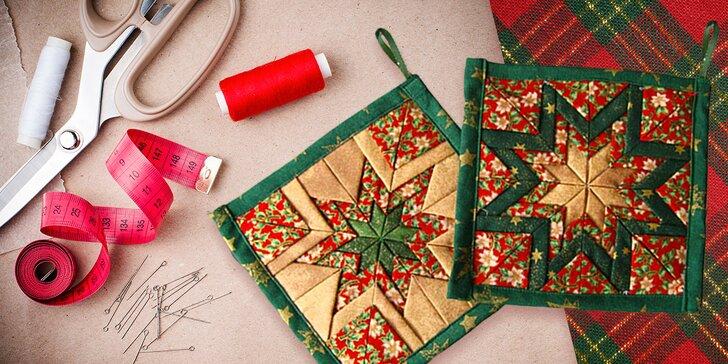 Vánoční tabule letos v novém: 5 hodin kreativního šití originálních doplňků