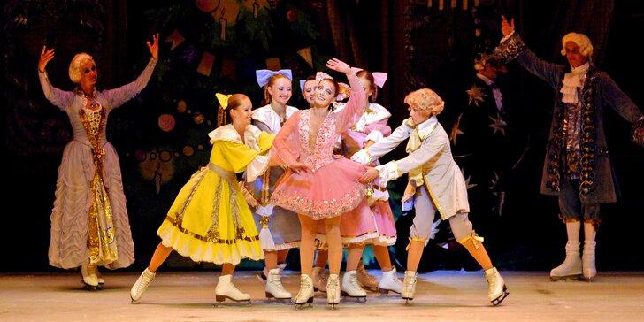 Balet Louskáček tentokrát jinak: kouzelná klasika jako představení na bruslích