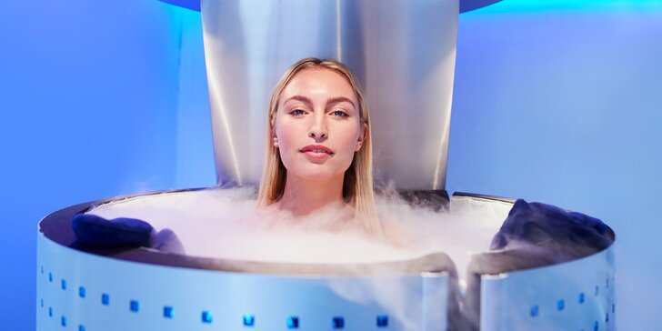 Probuďte své tělo zážitkem extrémního chladu: 1, 3 či 5 vstupů do kryokomory
