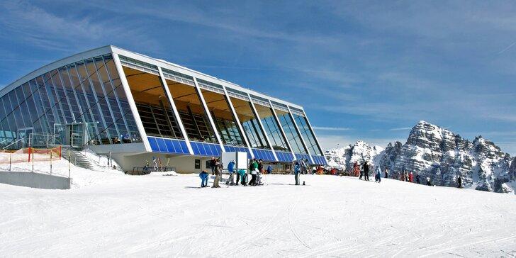 3 až 6 dní v Tyrolsku – vstupy do bazénu, lyžování i výlet do Innsbrucku