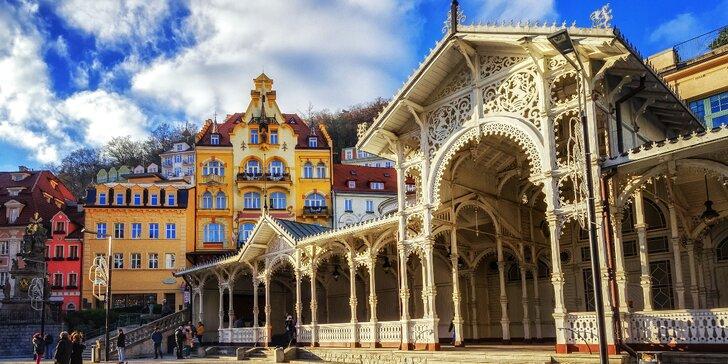 3-4denní pobyt pro dva se snídaní v centru Karlových Varů