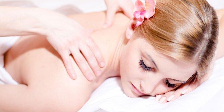 Vyberte si dle svých potřeb a nálady některou z 8 uvolňujících masáží