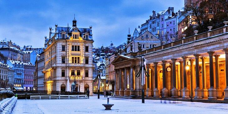 Klidný pobyt v srdci Karlových Varů: s možností romantické večeře i wellness