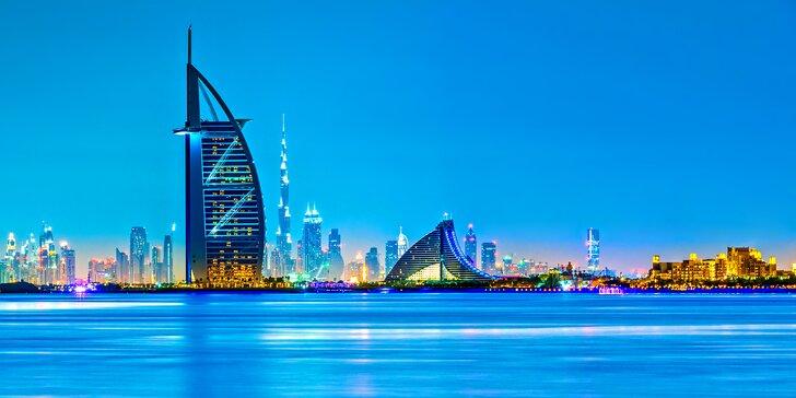 Letecky do Dubaje s možnou návštěvou Abu Dhabí: 4 noci v hotelu se snídaní