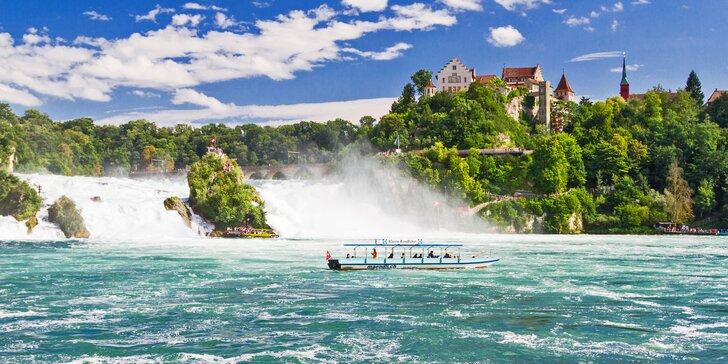Výlet do Kostnice ve stopách Jana Husa, k Rýnským vodopádům a na ostrov květin