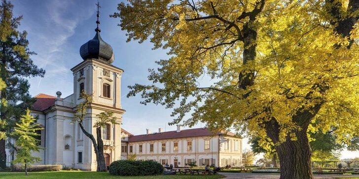 Zima nebo jaro u zámku Loučeň pro páry i rodiny: jídlo, bazén, labyrintárium