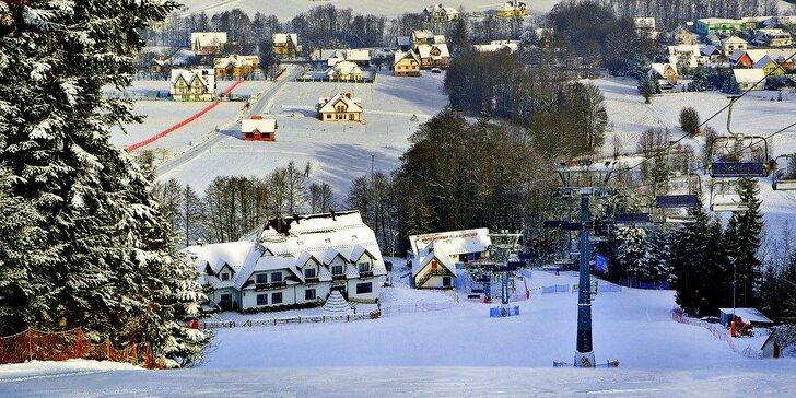 Od zimy až do léta v polských horách: Polopenze, relax a možnost skipasu