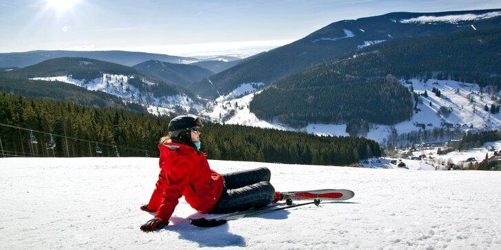 Na lyže do Harrachova: aktivní pobyt včetně bohaté polopenze pro dva