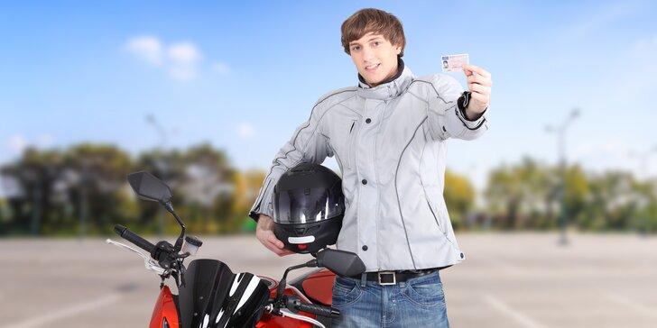 Splňte si sen: řidičský průkaz na motocykl (sk. A, A1, A2)
