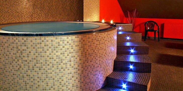 Luxusní 4* romantika u přehrady v Beskydech: privátní wellness a polopenze