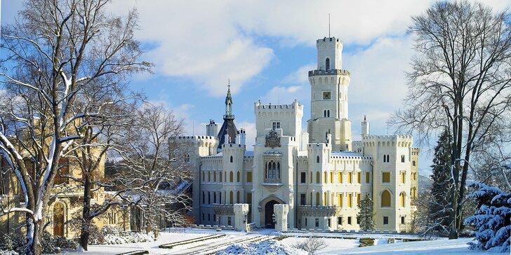 Romantika poblíž Hluboké nad Vltavou: wellness, polopenze i výlet lodí