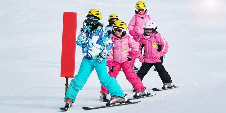 Individuální výuka lyžování na Božím Daru: hodina s lektorem pro děti i dospělé