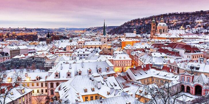 Objevte kouzlo zimní Prahy: apartmán blízko centra pro pár nebo rodinu