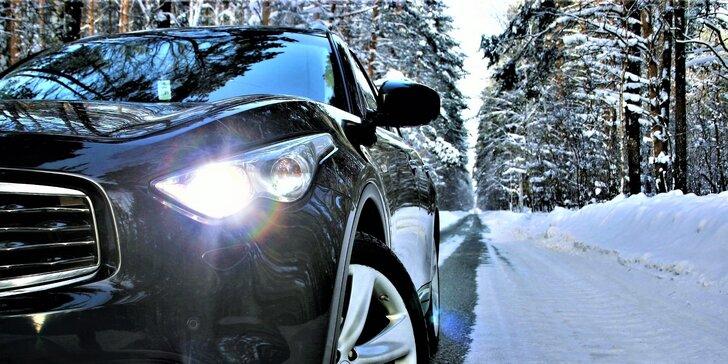 Ochrana před zimou: ošetření vozu nano voskem včetně mytí