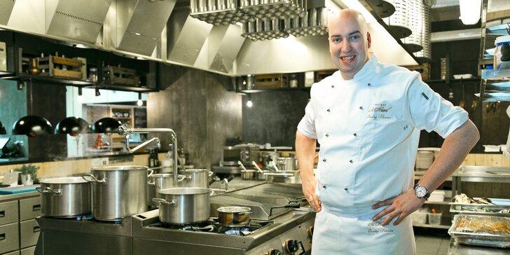 Mistrem kuchyně: libovolný kurz vaření s Ondřejem Slaninou v Chateau St. Havel