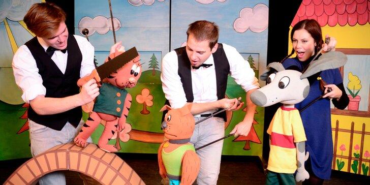 Vyražte s rodinou do Branického divadla na dětské představení Káťa a Škubánek