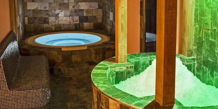 Aktivní relaxace ve vyhlášeném hotelu Bouda Máma s wellness i polopenzí