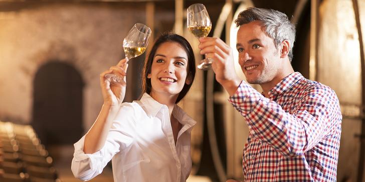 Oddech mezi vinicemi: pobyt s ochutnávkou vína a bohatě obloženým talířem