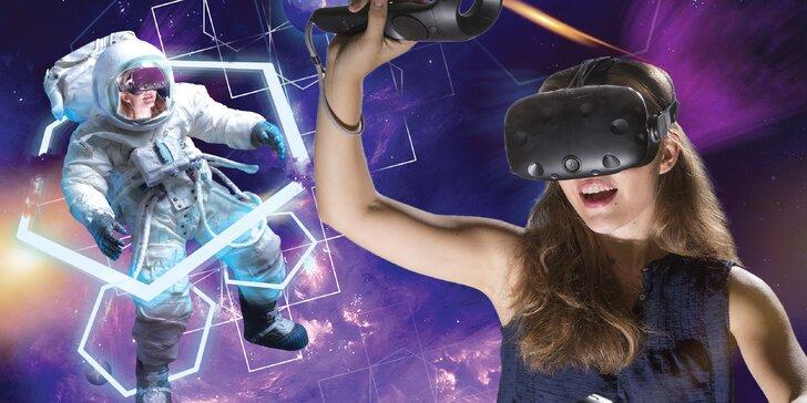 Virtuální realita: 1, 3, 5 či 10 vstupů na konzoli HTC Vive i simulátor létání