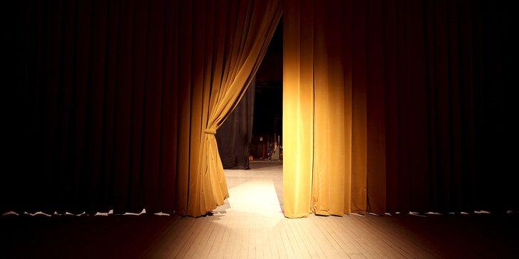 Vstupenka na divadelní představení Manželský čtyřúhelník