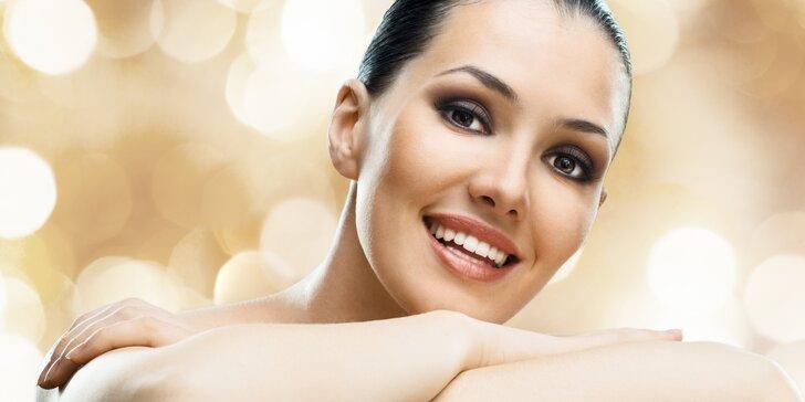 Kosmetický balíček pro dámy: barvení řas a obočí s líčením