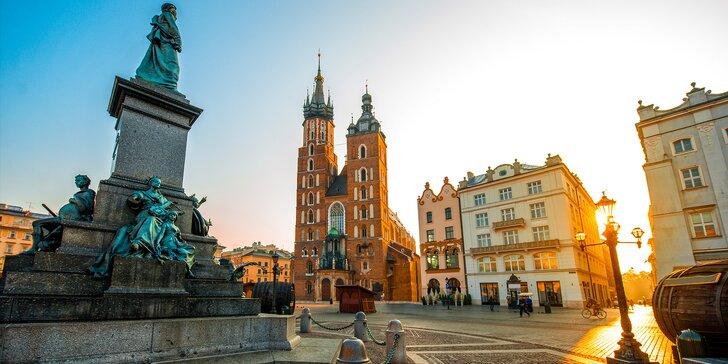 Poznávací výlet do Polska: Krakov a Wieliczka – nejkrásnější solný důl Evropy