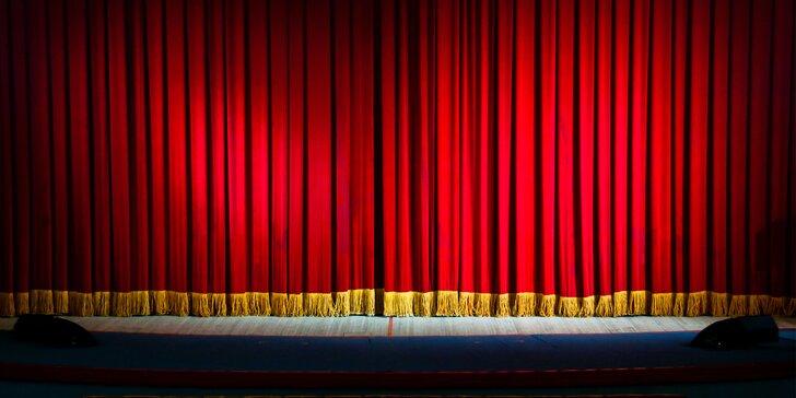 Vstupenky na libovolné představení Divadelního studia ''V'' odehrané v roce 2018