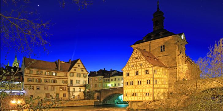 Adventní Bamberk: prohlídka města a vánoční trhy v kulisách historického centra