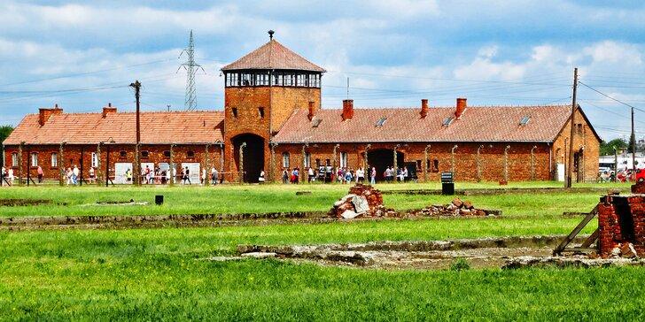 Osvětim, Březinka, solné doly Wieliczka a Krakow s průvodcem a ubytováním