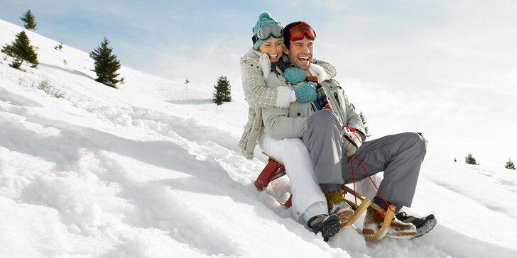 Zimní pohoda v apartmánech na Lipně: Polopenze i neomezený wellness