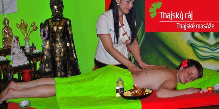 Přepychová masáž pravým zlatem v délce 60 nebo 90 minut a rybičky Garra Rufa