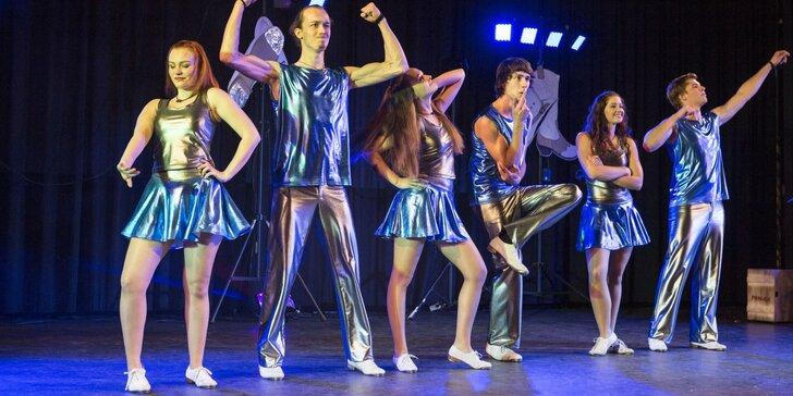 Vstupenka na tanečně hudební představení Steposkop