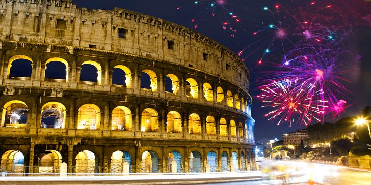 Prožijte báječný Silvestr v Římě s novoročními oslavami vč. ubytování na 1 noc