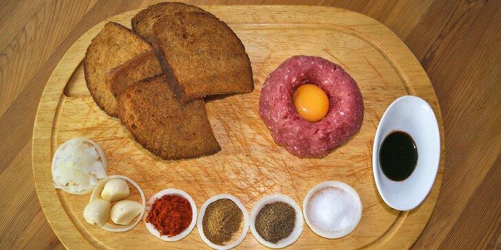 Tataráček z pravé svíčkové: 200 nebo 500 gramů