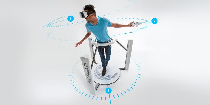 Tohle jinde nezažijete: Zábava ve virtuální realitě s pohybem v rozsahu 360°