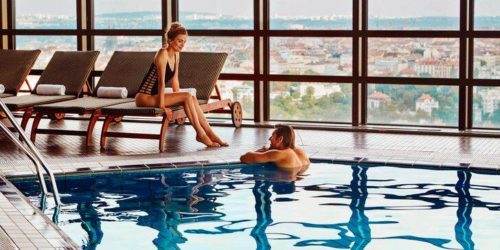 Luxusní pobyt s neomezeným wellness v pražském hotelu Corinthia *****