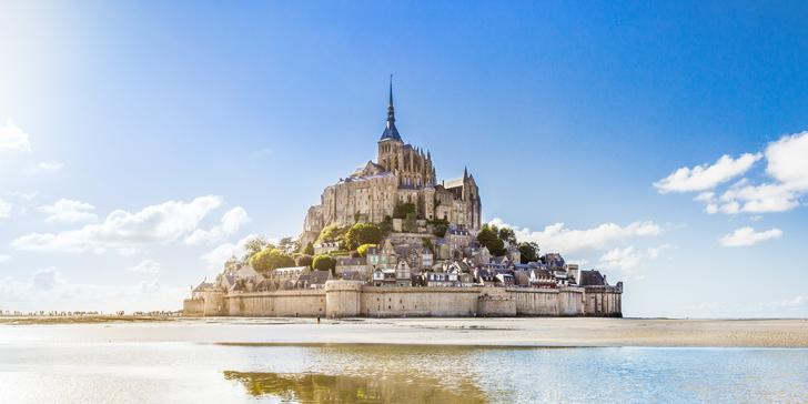 Červnový autobusový zájezd do Normandie a Bretaně s průvodcem a 3 noclehy