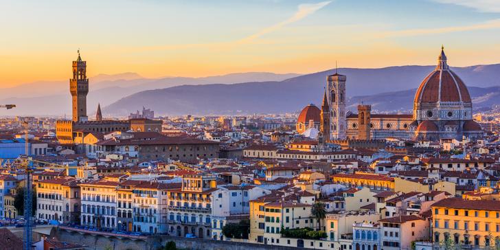 Jarní zájezd do Toskánska – Florencie, Pisa, Siena, degustace vín i koupání