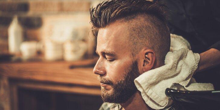 Ocení každý fešák: pánský moderní střih s masáží a stylingem