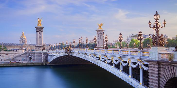 Velikonoční zájezd do Paříže a Versailles s 1 nocí v hotelu se snídaní a průvodcem