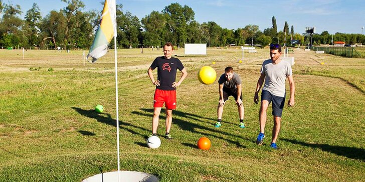 Mezi fotbalem a golfem: propadněte novému originálnímu sportu jménem folf