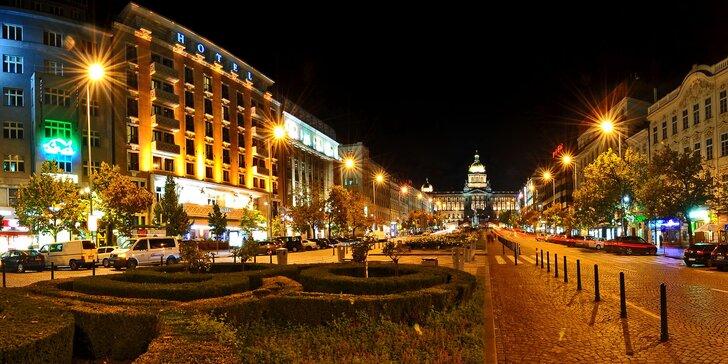 5* pobyt v centru Prahy: Jalta Boutique Hotel na Václavském náměstí