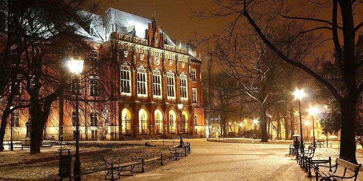 Zažijte romanci ve dvou: pobyt v historickém centru Krakova se snídaní