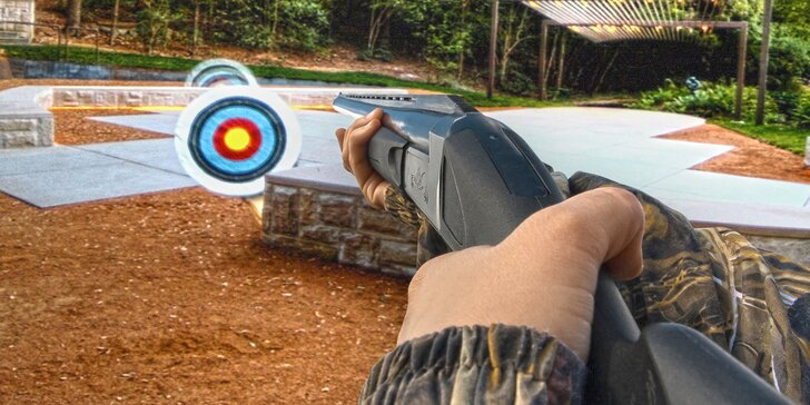 30 nebo 60 minut laserové zábavy: projekční střelnice až pro 4 hráče
